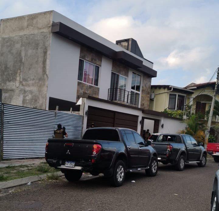 Capturan a supuesto cabecilla de la MS-13; en la residencial Palma Real de Comayagüela