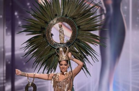 Miss Honduras Universo brilló durante la competencia en traje típico