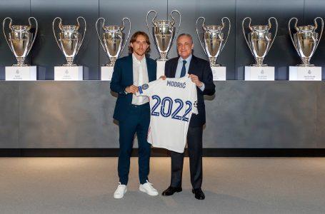 Luka Modric renueva hasta 2022 con el Real Madrid