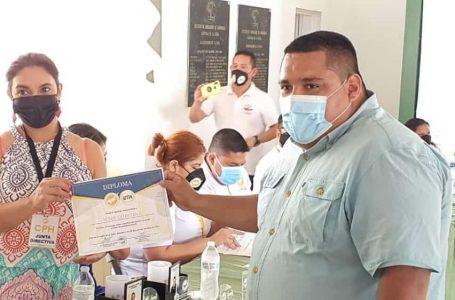 CPH reconoce labor del periodista Josué Quintana Gómez en Atlántida