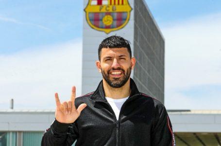 Oficial: «Kun» Agüero es nuevo jugador del Barcelona hasta 2023