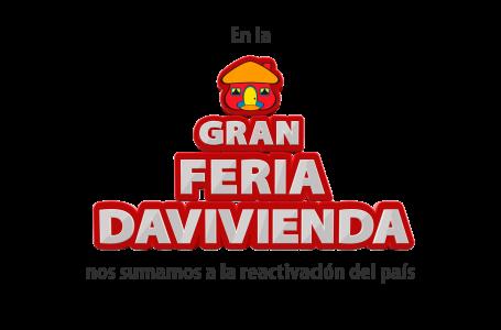 """Davivienda reafirma compromiso en apoyar la reactivación con """"La Gran Feria Davivienda"""""""