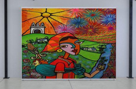 IICA presenta pinturas hondureñas que resaltan su riqueza agrícola