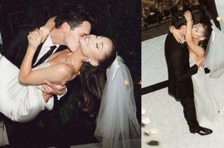 Ariana Grande confirma que se casó con Dalton Gomez y comparte las primeras fotos