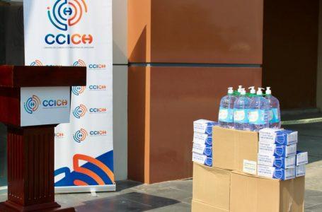 Ahorro Ferias «El Lempirita» de Choloma y SPS reciben donativo de material de bioseguridad