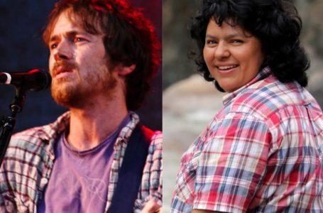 Cantautor irlandés dedica canción a la ambientalista hondureña Berta Cáceres