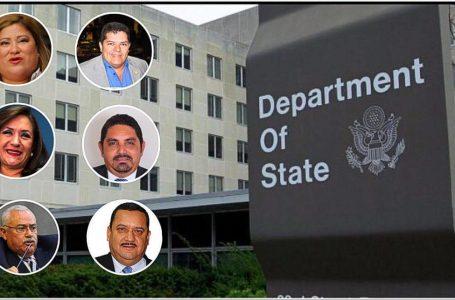 Seis diputados hondureños en listado de actores corruptos del Triángulo Norte