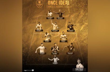 La Liga Nacional oficializa el 11 Ideal del torneo Clausura, plagado de olimpistas