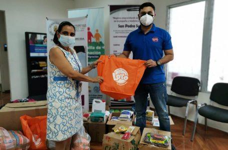 Casas refugio reciben donación de insumos de parte de LOTO