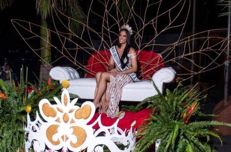Copanecos recibieron a lo grande a la Miss Honduras Universe, Cecilia Rossell