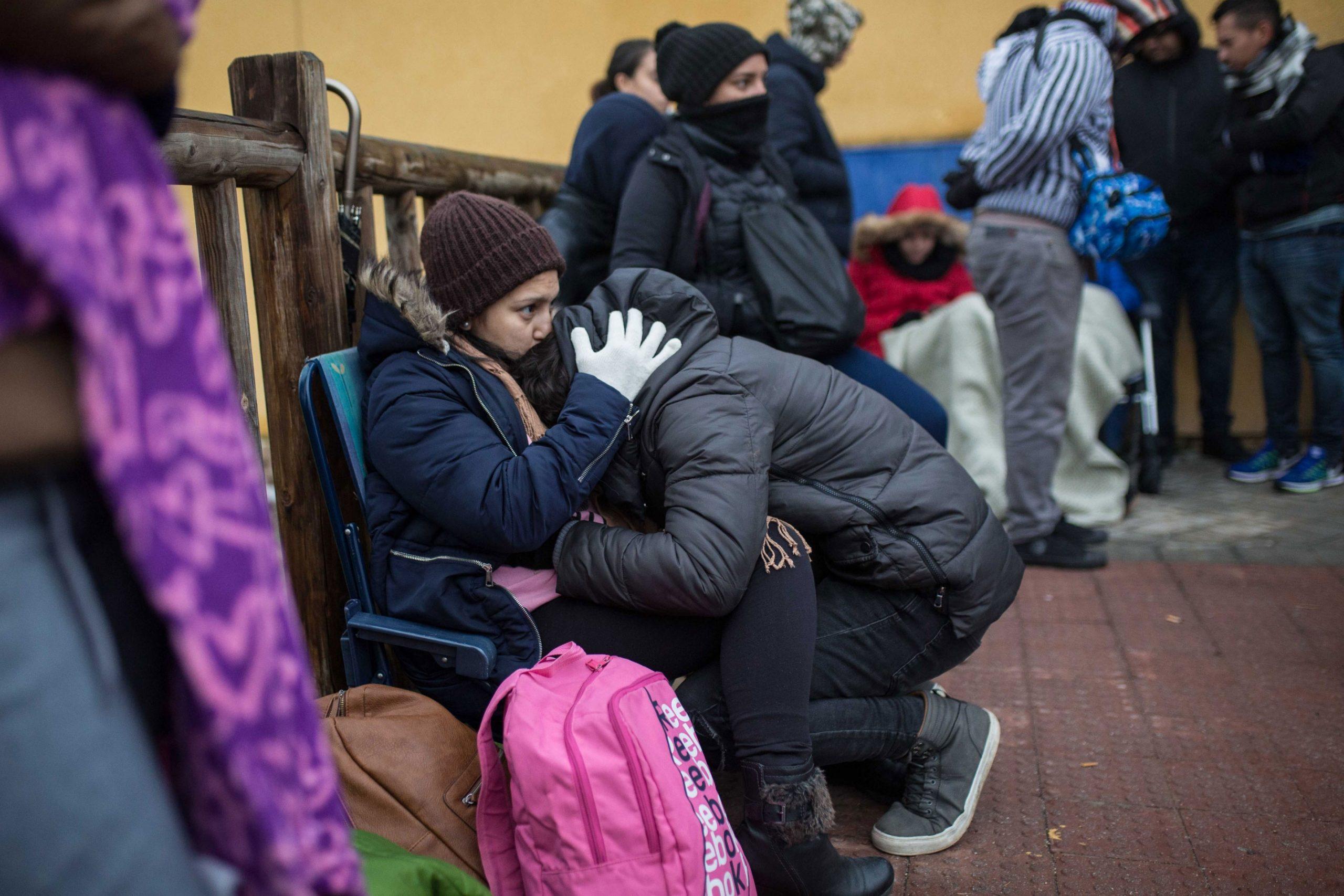 Migrantes hondureños encabezan la lista de solicitantes de asilo
