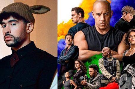 Bad Bunny formará parte de la película «Rápidos y Furiosos 9»