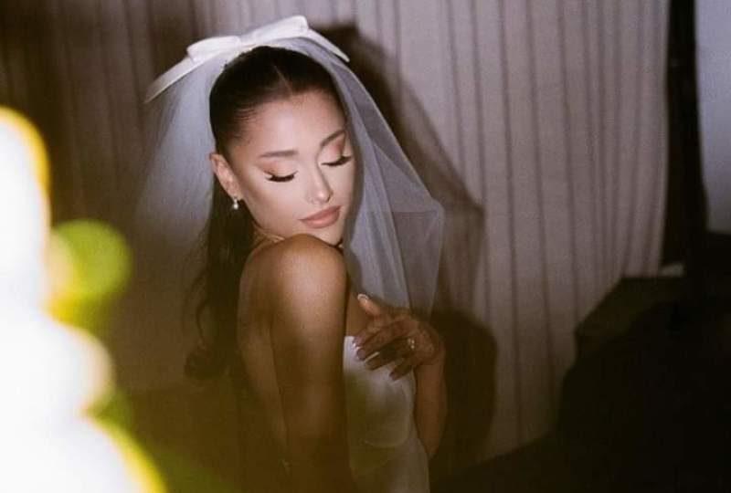 Ariana Grande rompe récords en Instagram con las fotos de su boda