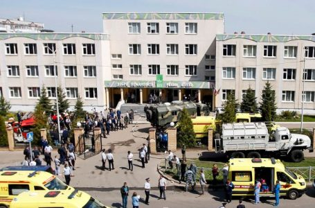 Al menos 9 muertos y 21 heridos en tiroteo en una escuela de la ciudad rusa de Kazán