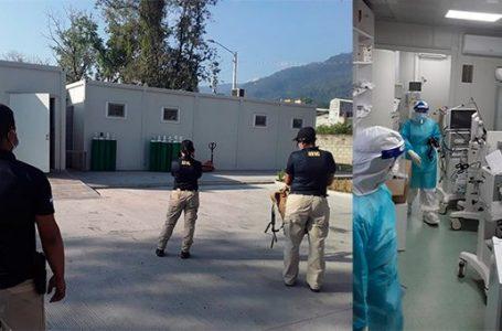 MP investiga denuncia de saqueó de hospital móvil en la zona noroccidental