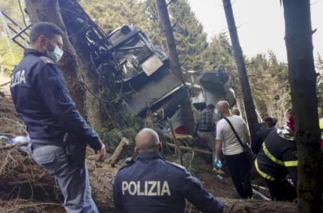 Detienen a tres por desactivar a propósito freno de emergencia del teleférico siniestrado en Italia