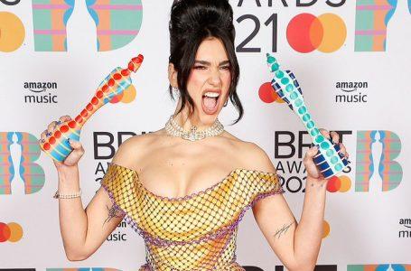 Dua Lipa fue la más premiada en unos «BRIT Awards 2021» muy feministas