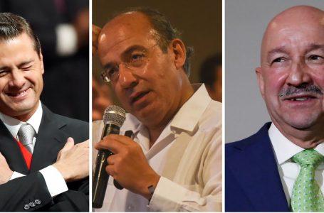 México investiga a tres de sus expresidentes Salinas, Calderón y Peña Nieto
