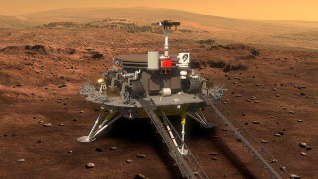 China el segundo país del mundo en aterrizar con éxito en Marte