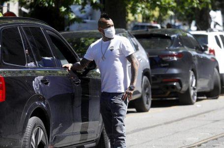 Arturo Vidal, hospitalizado por coronavirus