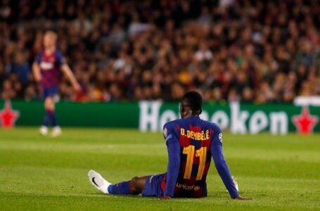 Dembélé pasará por el quirófano tras nueva lesión