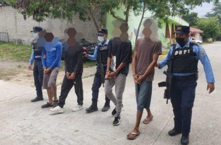 Más de 70 personas fueron capturadas mediante operativos por parte dela DPI