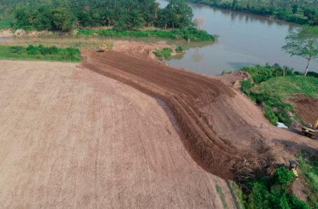 Finanzas no descarta aprobar más recursos para reparar bordosdel Valle de Sula