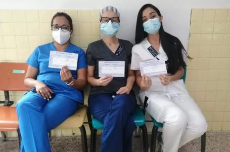 Un 10% del personal del Hospital Escuela decidió no aplicarse la vacuna contra el Covid
