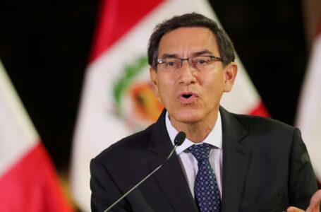 Martín Vizcarra llama a «respetar la voluntad popular» en las elecciones de Perú