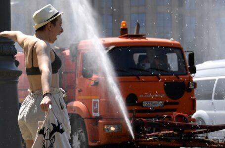 Moscú atraviesa una ola de calor y bate el récord de temperatura desde de 1917