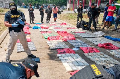 Grupos criminales insisten en buscar espacios para trasportar la droga por Honduras