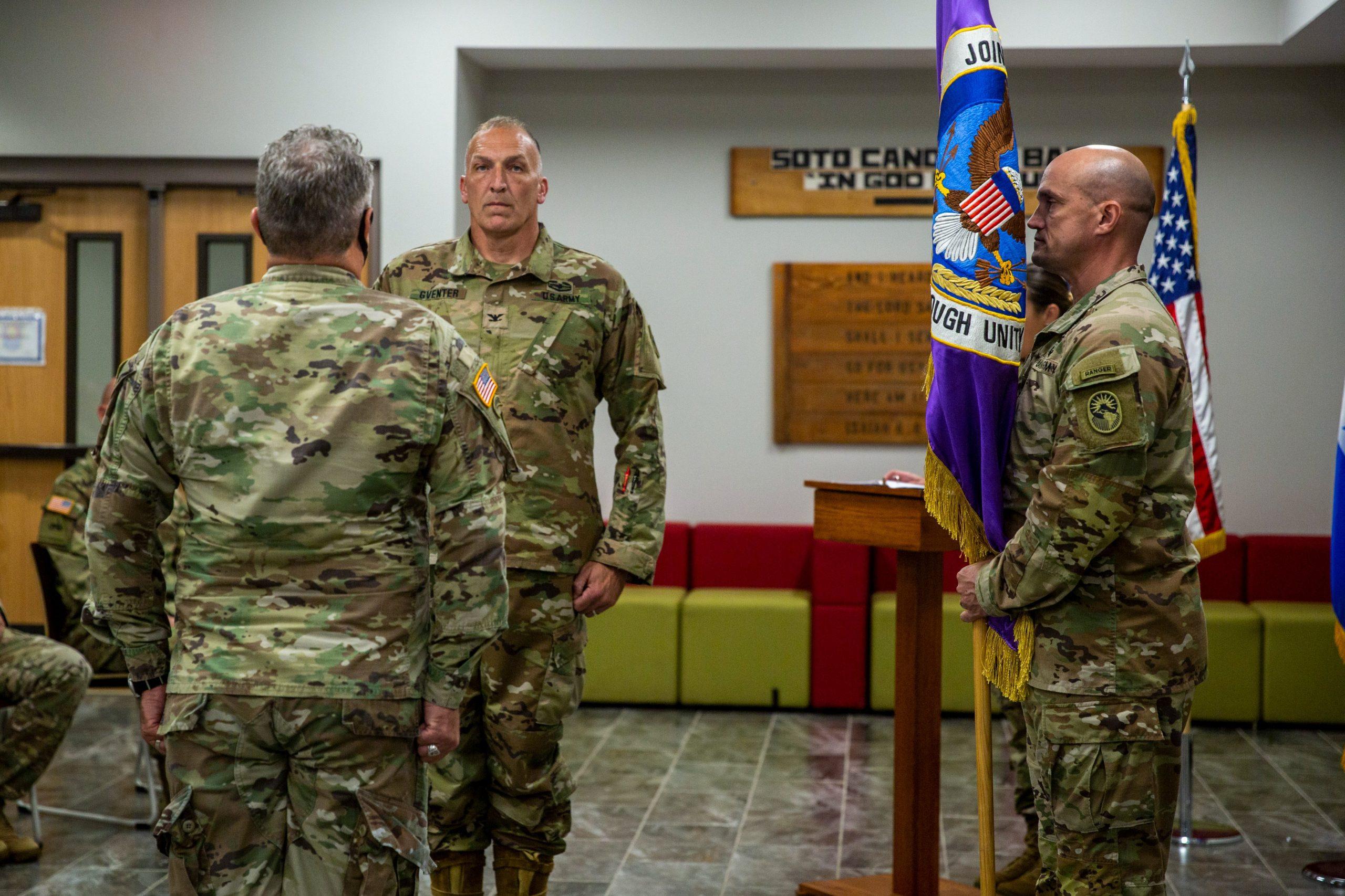 Asume nuevo Comandante de la Fuerza de Tarea Conjunta-Bravode EEUU en Honduras