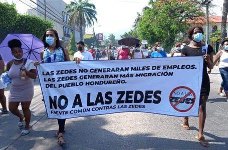 Piden a oposición política exigir derogación de la Ley ZEDE