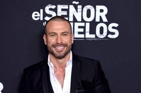 Rafael Amaya anuncia que regresa a la actuación tras superar adicciones