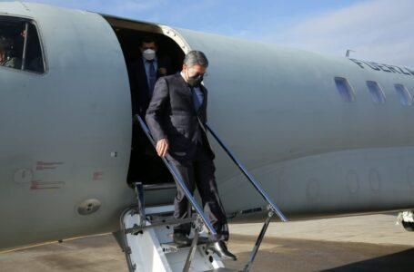 Presidente Hernández viajó a Costa Rica para ser parte del Sica-España