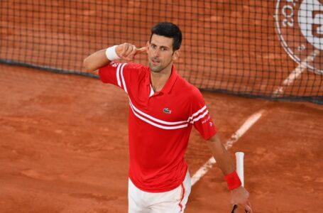 Novak Djokovic derrotó a Rafael Nadal y se clasificó a la final de Roland Garros