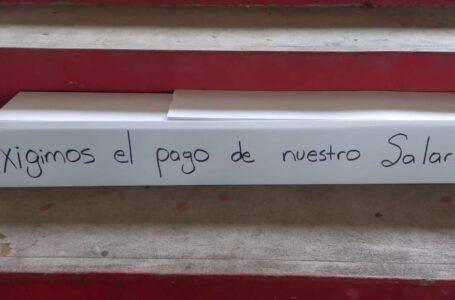 En paro los empleados del triaje de La Ceiba por falta de pago de salarios