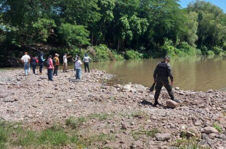 Realizan inspecciones en ríos de la zona central por denuncias de extracción de material no metálico