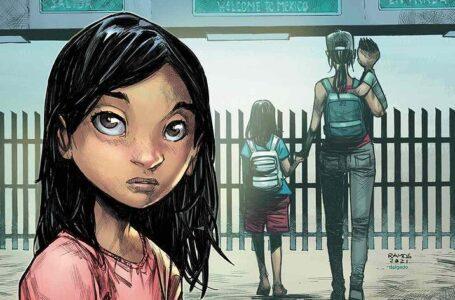 Ana, el cómic sobre una niña hondureña que aborda la migración infantil