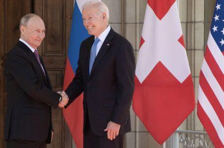 """Biden y Putin se reúnen en Ginebra: """"siempre es mejor verse cara a cara"""""""