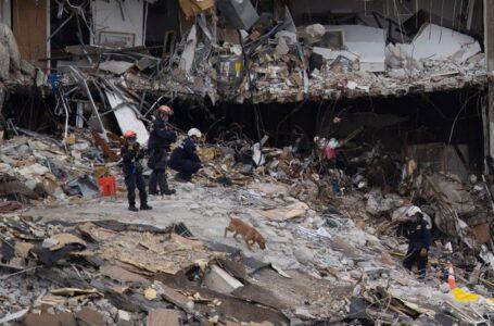 Joe Biden espera visitar el sitio del derrumbe en Miami el próximo jueves