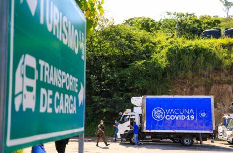 Llega a Honduras la segunda dosis de las vacunas donadas por El Salvador a municipios