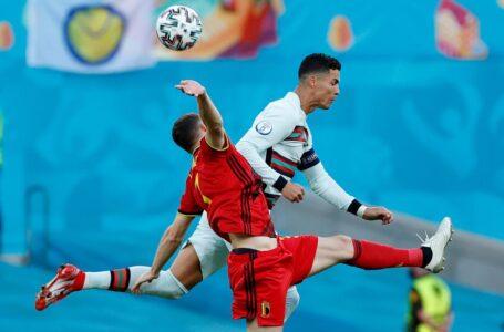Bélgica despidió de la Eurocopa al campeón Portugal y Cristiano se quedó sin romper el récord goleador