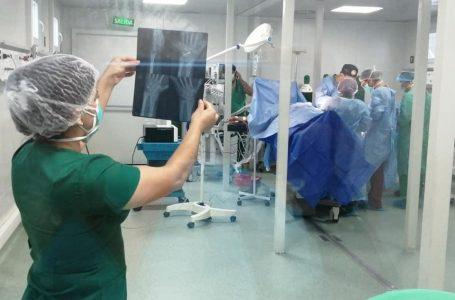 Más de 100 cirugías ambulatorias de ortopedia se han realizado en el hospital modular de Tegucigalpa