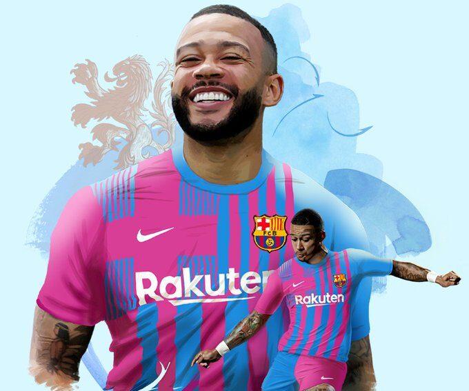 Depay, nuevo jugador del Barcelona hasta junio de 2023