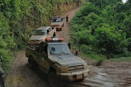 Fiscales del MP investigan «in situ» construcción de carretera en La Mosquitia