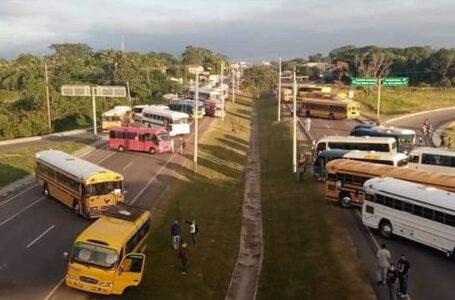 Transporte interurbano amenaza con nuevo paro a nivel nacional