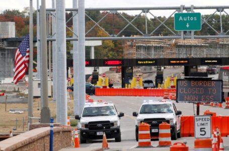 EE.UU y Canadá se preparan para discutir el levantamiento de las restricciones fronterizas