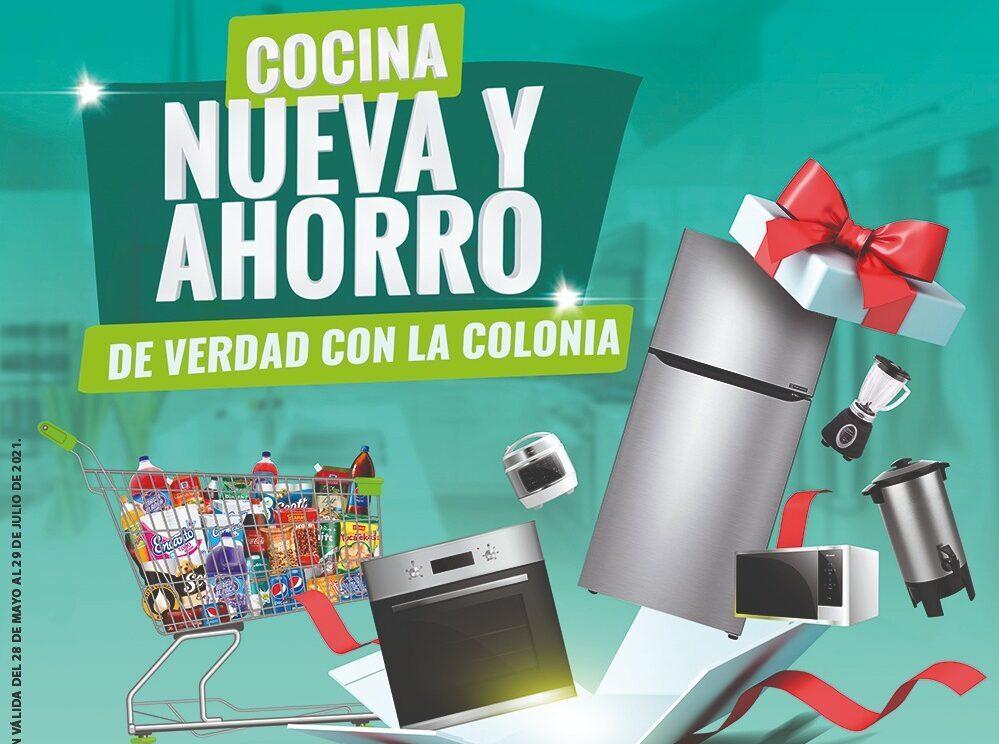Supermercado La Colonia remodela las cocinas de familias con su más reciente promoción