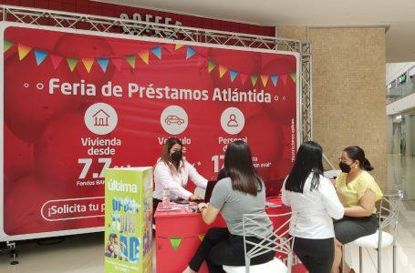 Banco Atlántida inicia feria de préstamos con las mejores tasas para sus clientes